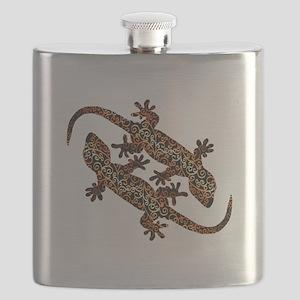 zwei geckos Flask