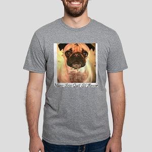 Now I know...white Mens Tri-blend T-Shirt