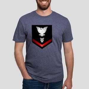 navy_e4_musician Mens Tri-blend T-Shirt