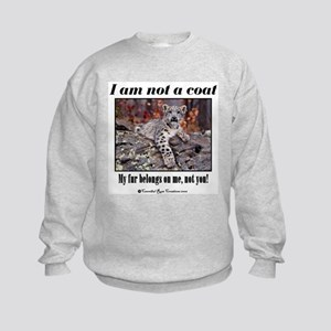 Paws Off Kids Sweatshirt