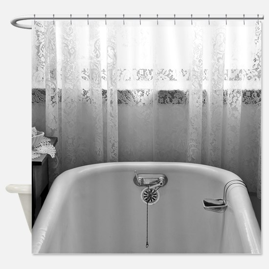 Cute Claw foot tub Shower Curtain