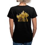 Butcher Women's V-Neck Dark T-Shirt