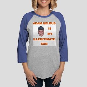 adamhelbus illegitimate Womens Baseball Tee