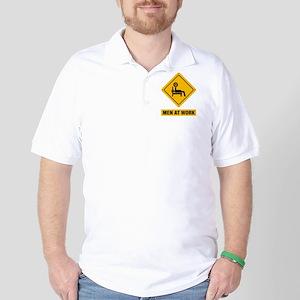Power Lifting Golf Shirt