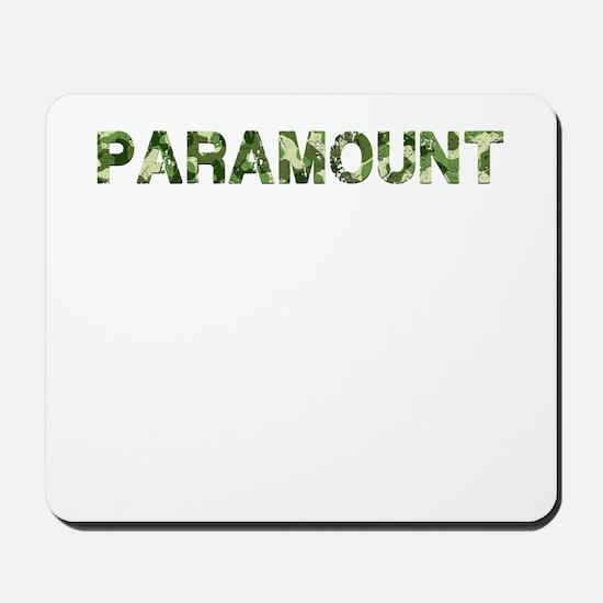Paramount, Vintage Camo, Mousepad
