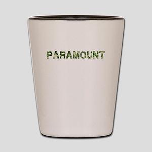 Paramount, Vintage Camo, Shot Glass