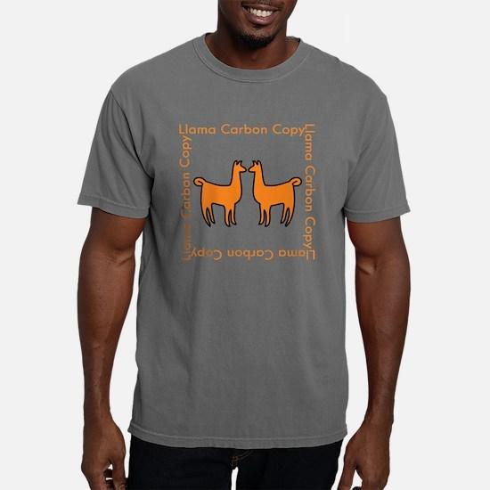 llamaCCshirt2A.png Mens Comfort Colors Shirt