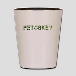 Petoskey, Vintage Camo, Shot Glass