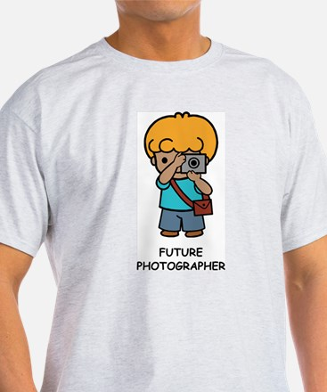 Future Photographer Ash Grey T-Shirt