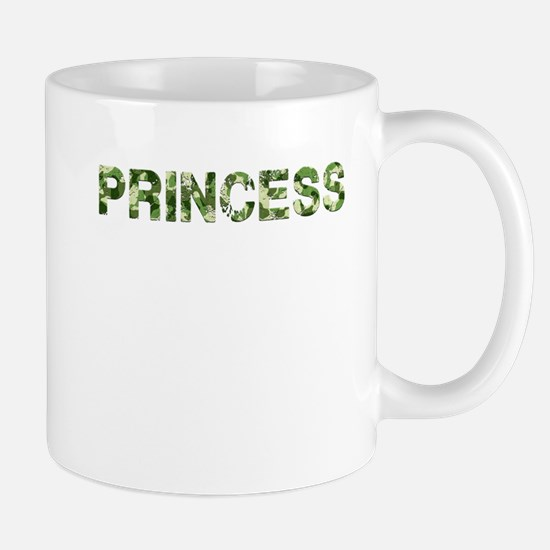 Princess, Vintage Camo, Mug