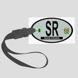 Car code - Rhodesia Large Luggage Tag