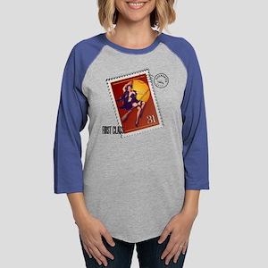 Halloween_Shirt_PostageStamp.p Womens Baseball Tee