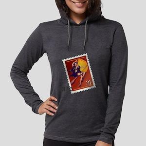 Halloween_Shirt_PostageStamp.p Womens Hooded Shirt