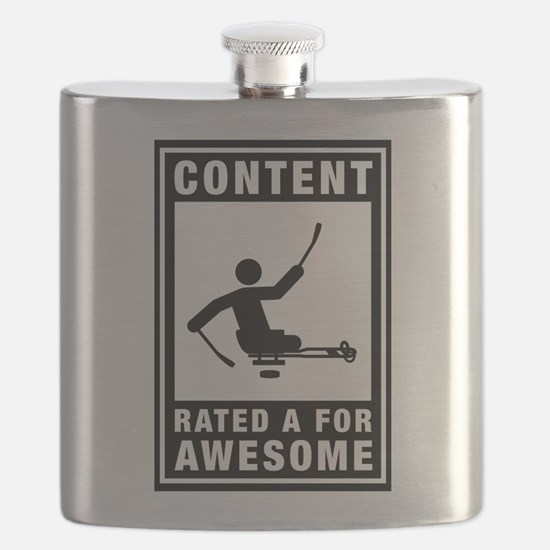 Challenged Sled Hockey Flask