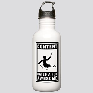 Challenged Sled Hockey Stainless Water Bottle 1.0L