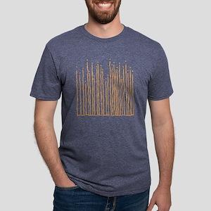 AbstractFire_10x10_Dark_app Mens Tri-blend T-Shirt