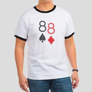 Pocket Eights Poker Ringer T