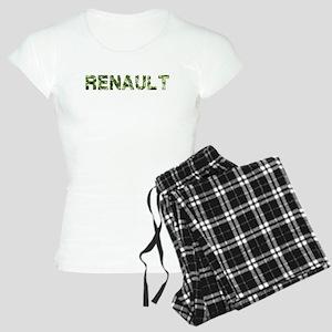 Renault, Vintage Camo, Women's Light Pajamas