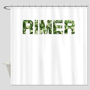 Rimer, Vintage Camo, Shower Curtain