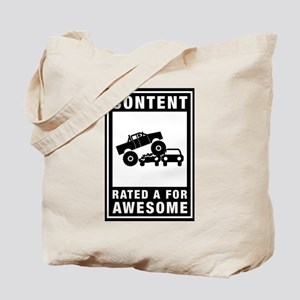 Monster Truck Tote Bag