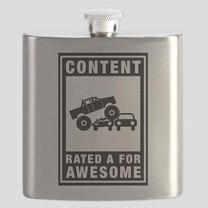 Monster Truck Flask