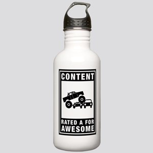 Monster Truck Stainless Water Bottle 1.0L