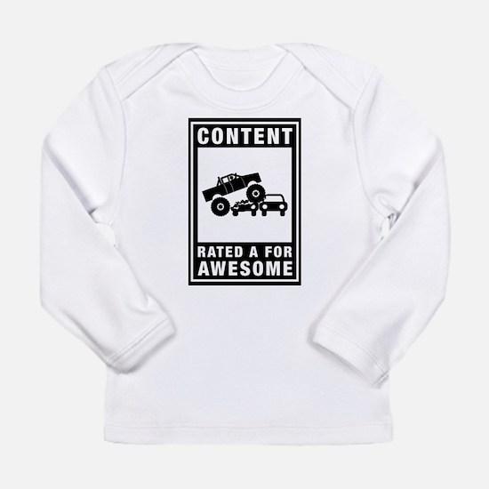 Monster Truck Long Sleeve Infant T-Shirt