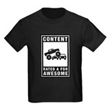 Monster truck Kids T-shirts (Dark)