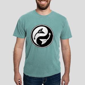 yin-v-guit-bw-T  Mens Comfort Colors Shirt