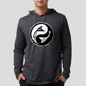 yin-v-guit-bw-T  Mens Hooded Shirt