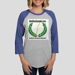 hellenismos Womens Baseball Tee