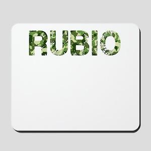 Rubio, Vintage Camo, Mousepad