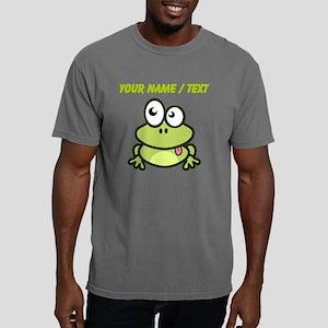 Custom Funny Cartoon Fro Mens Comfort Colors Shirt