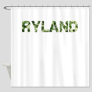 Ryland, Vintage Camo, Shower Curtain