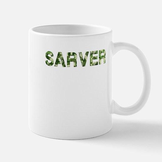 Sarver, Vintage Camo, Mug