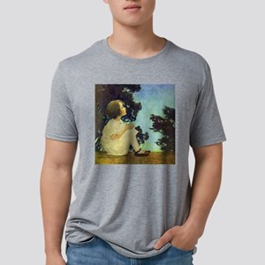 A Childs Book - Wish upon a Mens Tri-blend T-Shirt