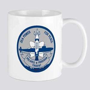 Old SSP logo grey_blue Mug