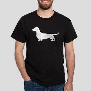 dachshundsilouetteblk T-Shirt
