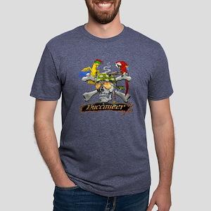 pirateparrotposter6-12 Mens Tri-blend T-Shirt