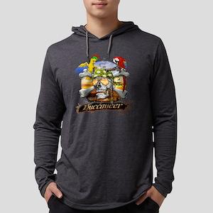 pirateparrotposter5-12sq Mens Hooded Shirt