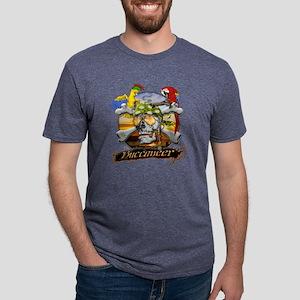 pirateparrotposter5-12sq.pn Mens Tri-blend T-Shirt
