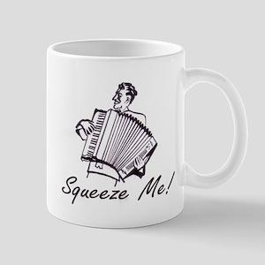 """Squeeze Me"" Accordion Mug"