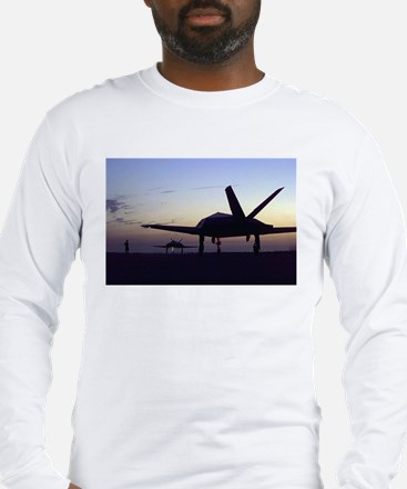 F-117 Nighthawk Long Sleeve T-Shirt