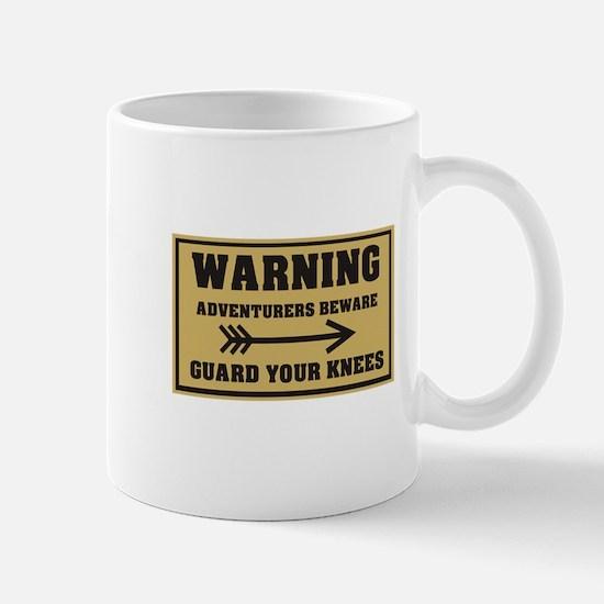 Guard your knees Mug