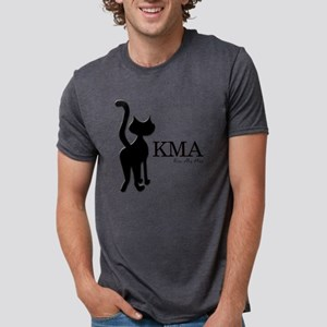 Black Cat Mens Tri-blend T-Shirt