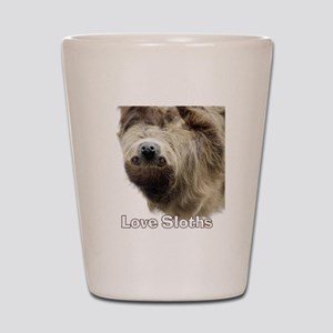 Love Sloths Shot Glass