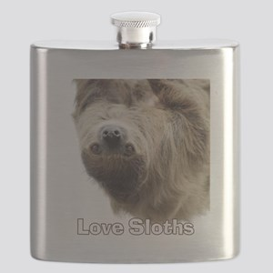 Love Sloths Flask