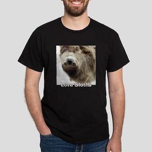 Love Sloths Dark T-Shirt