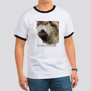 Love Sloths Ringer T