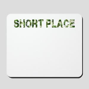 Short Place, Vintage Camo, Mousepad